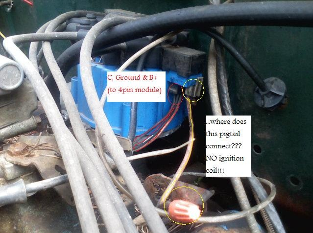 original how to wire 350 gm delco remy hei 4pin? gm hei distributor wiring harness at mr168.co