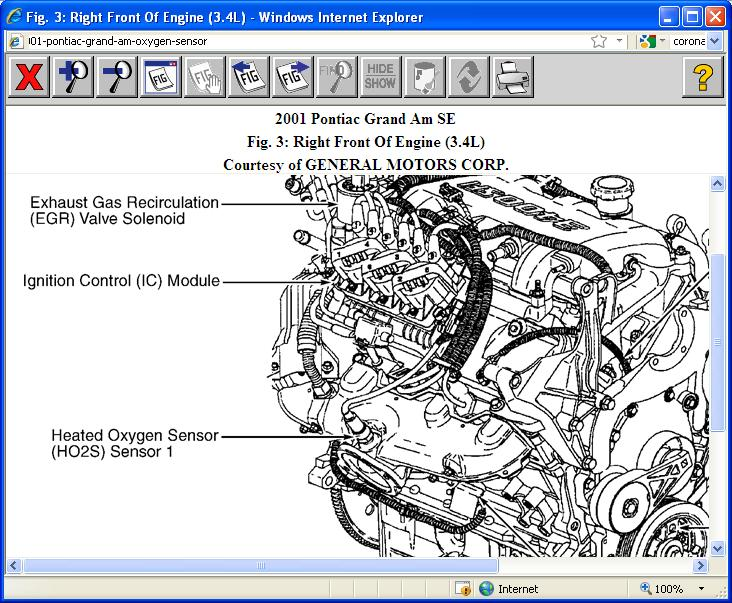 Oxygen Sensor Where Is The Front Located In Rh2carpros: 2000 Pontiac Grand Am O2 Sensor Location At Gmaili.net