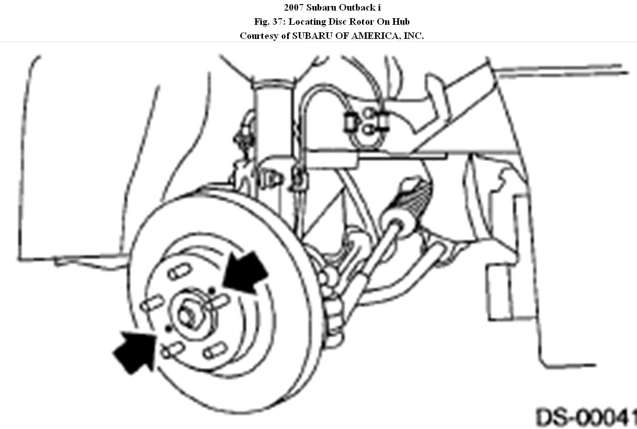 service manual  how to remove 2007 subaru outback hub