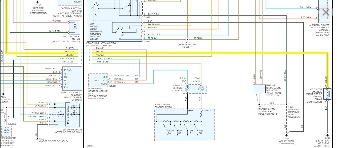 Where Is A  C Relay And Fuse