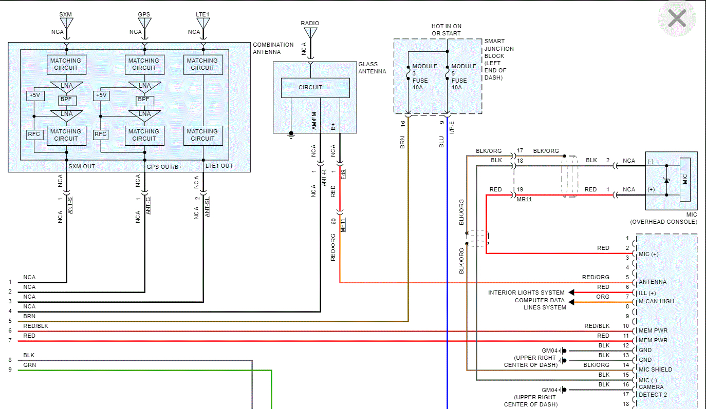 Stock Radio Wiring Diagram  Hello  I Am Trying To Find A Wiring