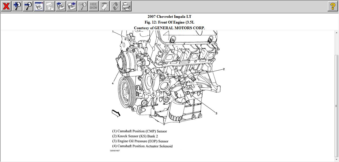 chevy oil pressure diagram