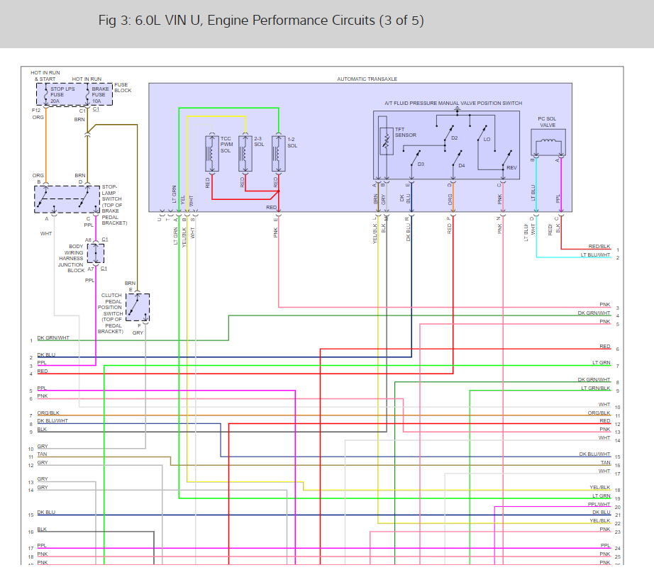 Engine And Fuel System Wiring Need Wiring Diagram For Fuel Pump