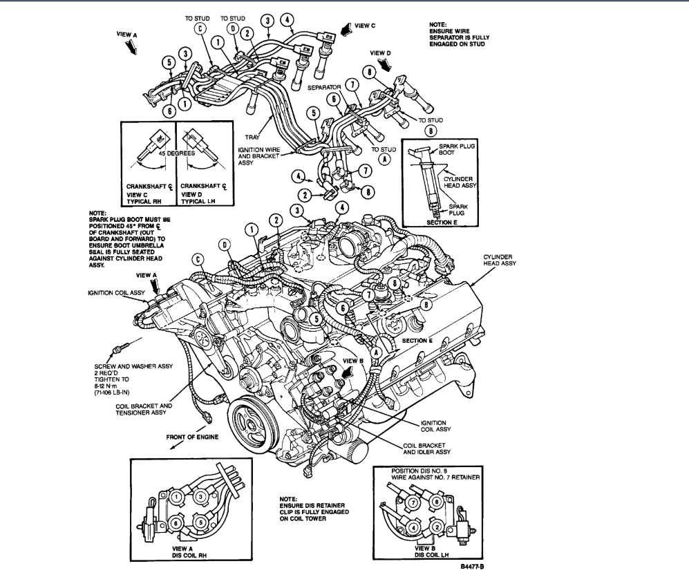 Spark Plug Wiring Diagram And Or Firing Order