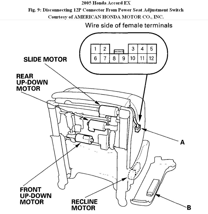2005 Honda Accord Power Seat Wont Recline on 2005 Gmc Denali Wiring Diagram