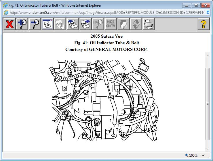 Lost Some Transmission Fluid On My 2005 V6 3 5 Saturn Vue