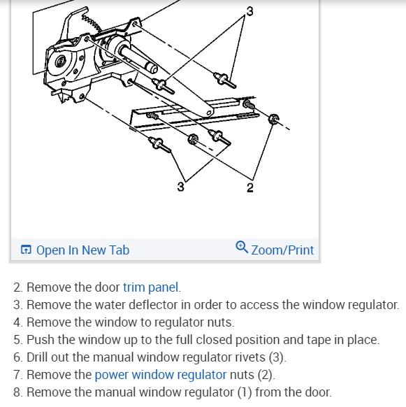 Power Window Motor How Do I Replace The Power Window Motor On