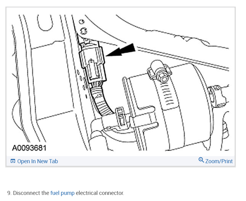 Fuel Pump Location And Replacement Where Is The Fuel Pump And Do