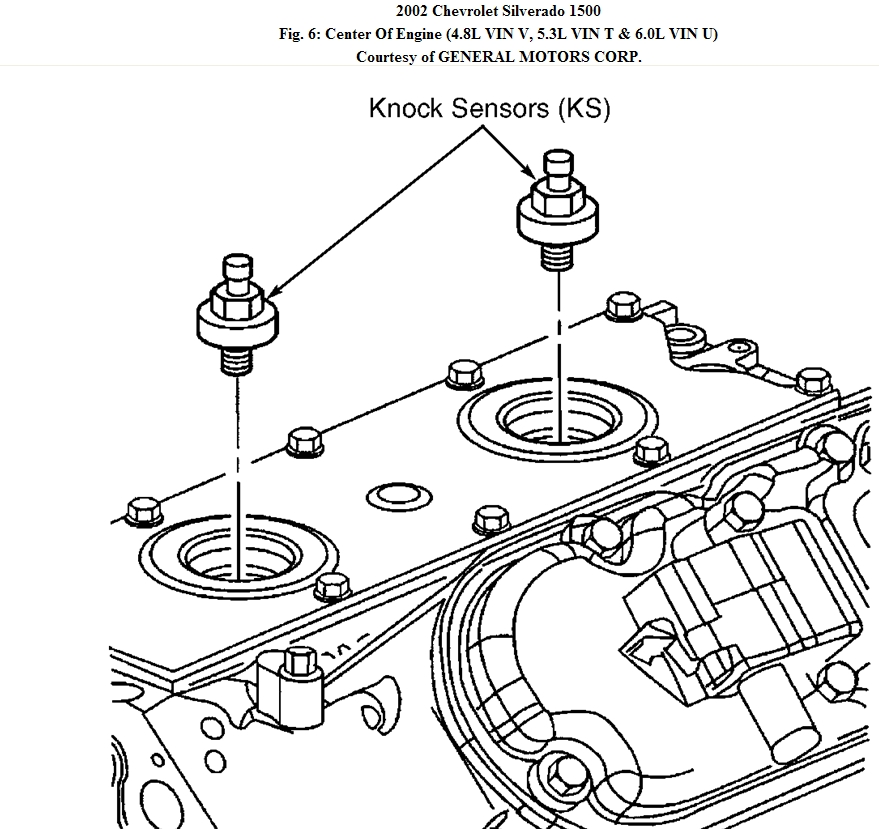 2001 Chevy Silverado Knock Sensor Wiring Diagram