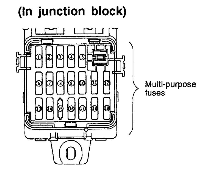 fuse box for 1997 pajero   24 wiring diagram images