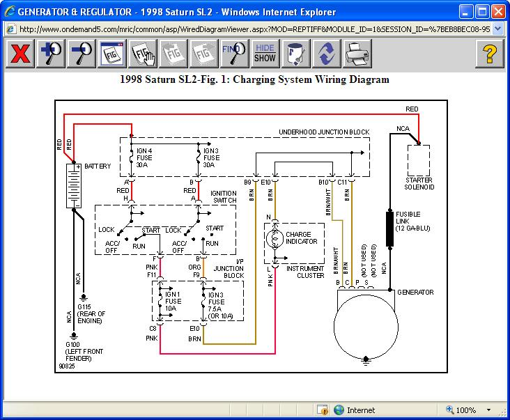 1997 Ford Escort Alternator Wiring Diagram : Battery light my altenator is putting out volts and