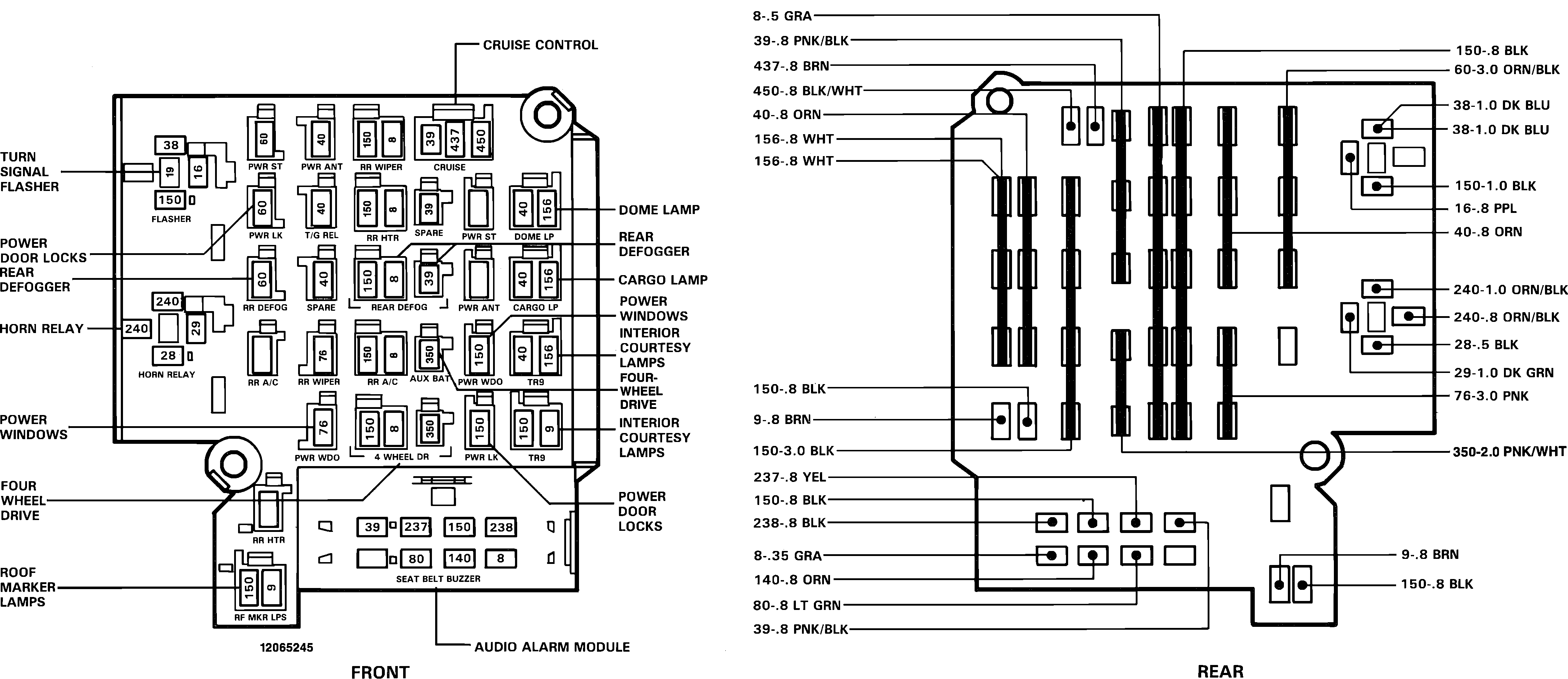 Relay And Switches Diagram Needed  Does Anyone Have A List Or