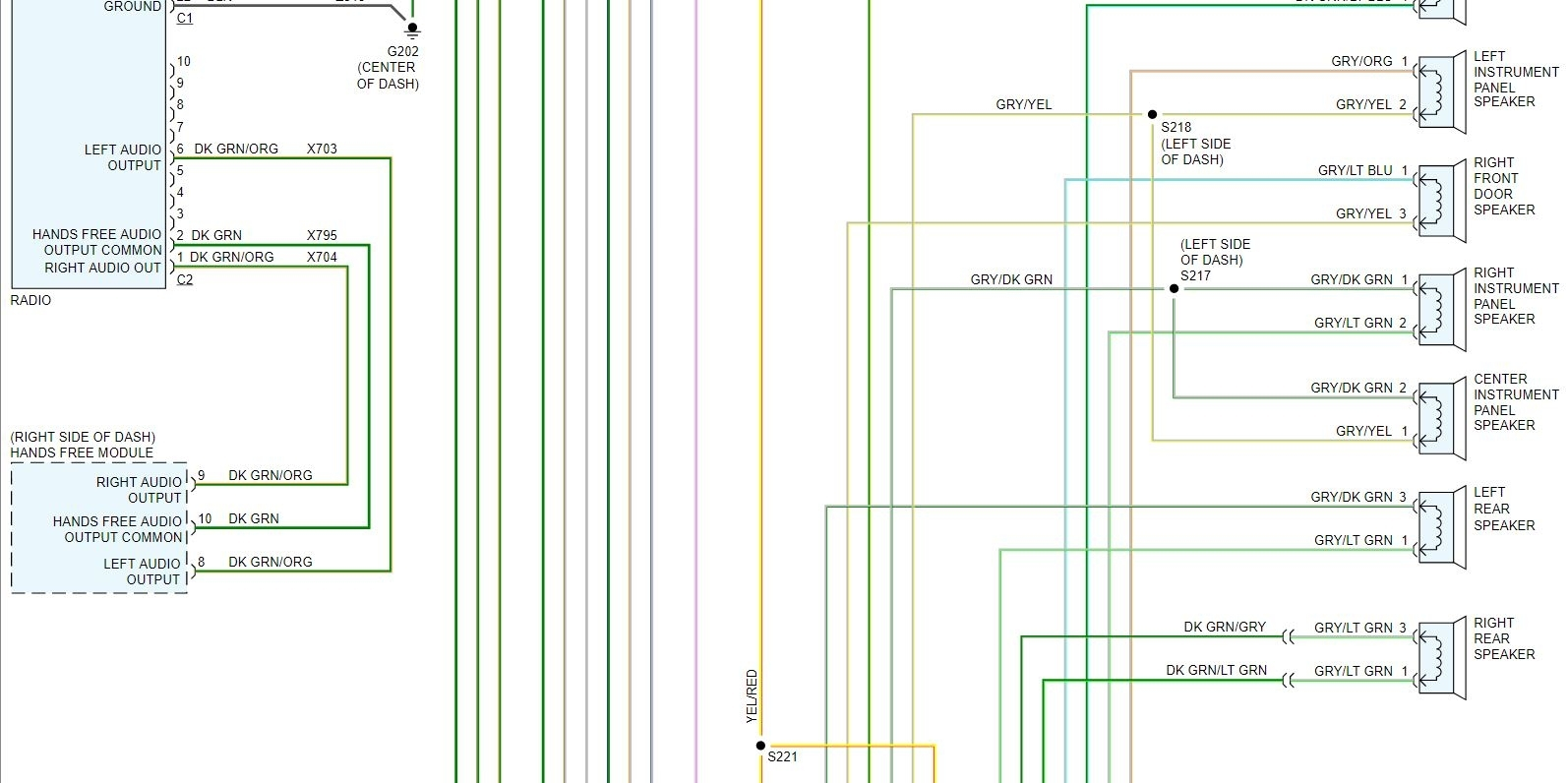 Stereo Wiring Diagram Needed To Install Aftermarket Stereo