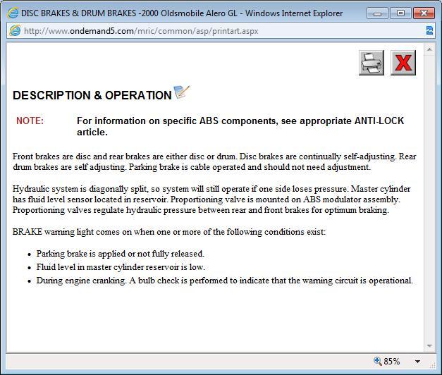Thumb  sc 1 st  2CarPros & How to Make Brake Warning Lite Go Off and Make Cruise Work azcodes.com