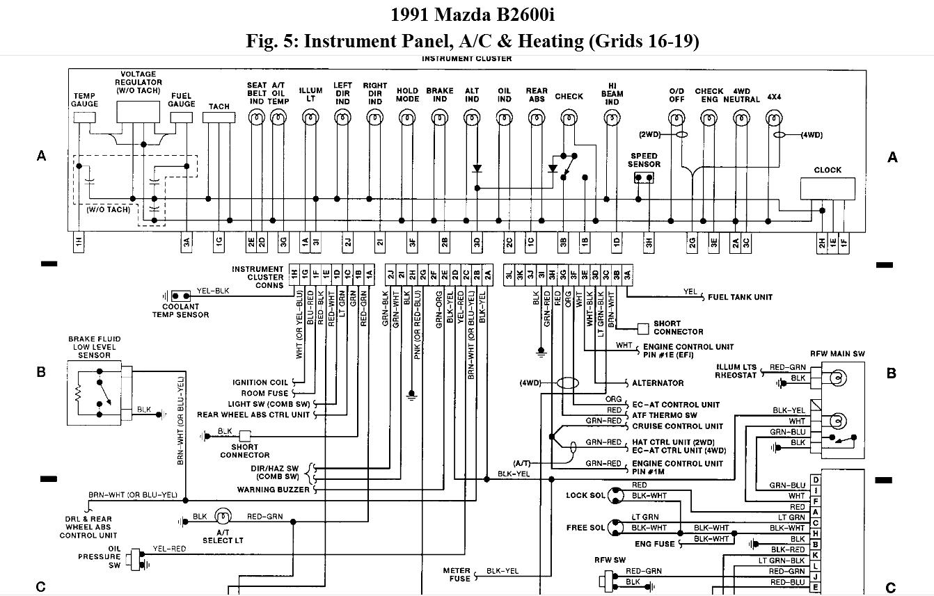 1987 Mazda B2200 Engine Diagram Wiring Library For 1988 On B2000 Interior