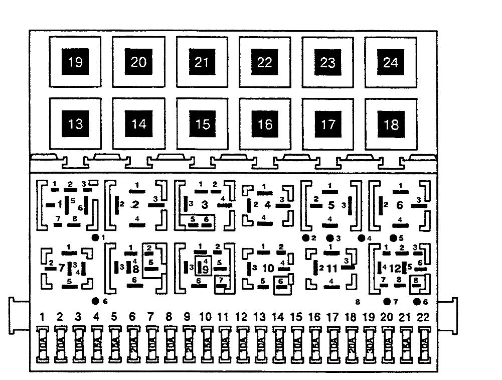 citroen c2 fuse box diagram