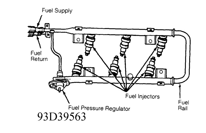 service manual  intrepid fuel pressure regulator location