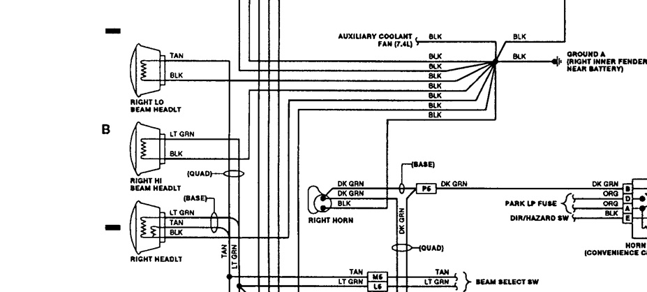 1993 Suburban Headlight Wiring Diagram - Collection Of Wiring Diagram •