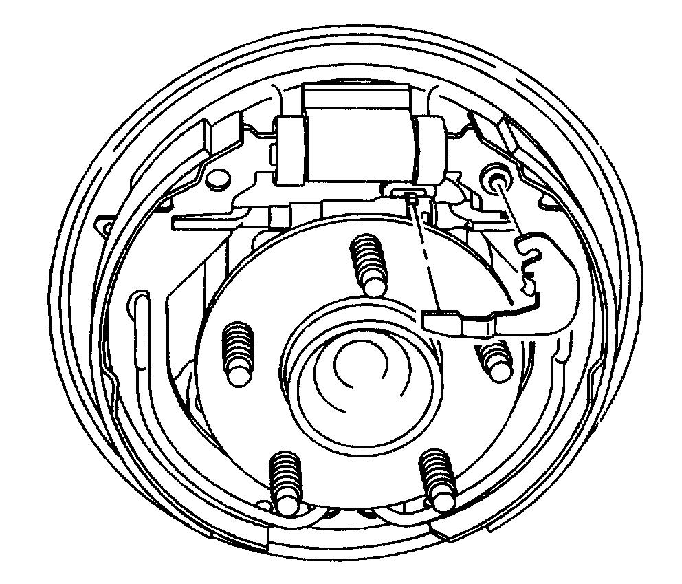 Rear Drum Brake Diagram Chevy