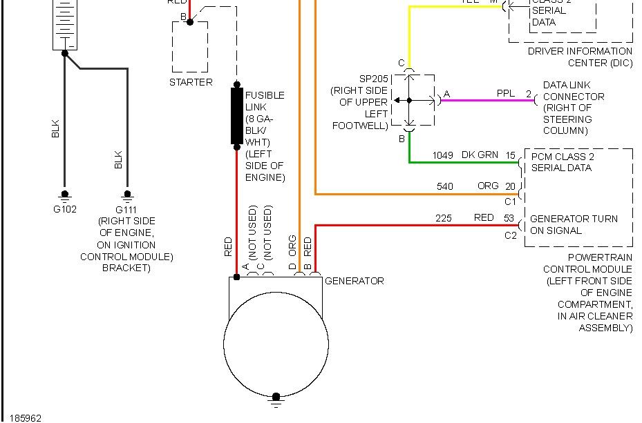 Wiring Diagram 2005 Pontiac Grand Prix Gtp - Wiring Diagrams on
