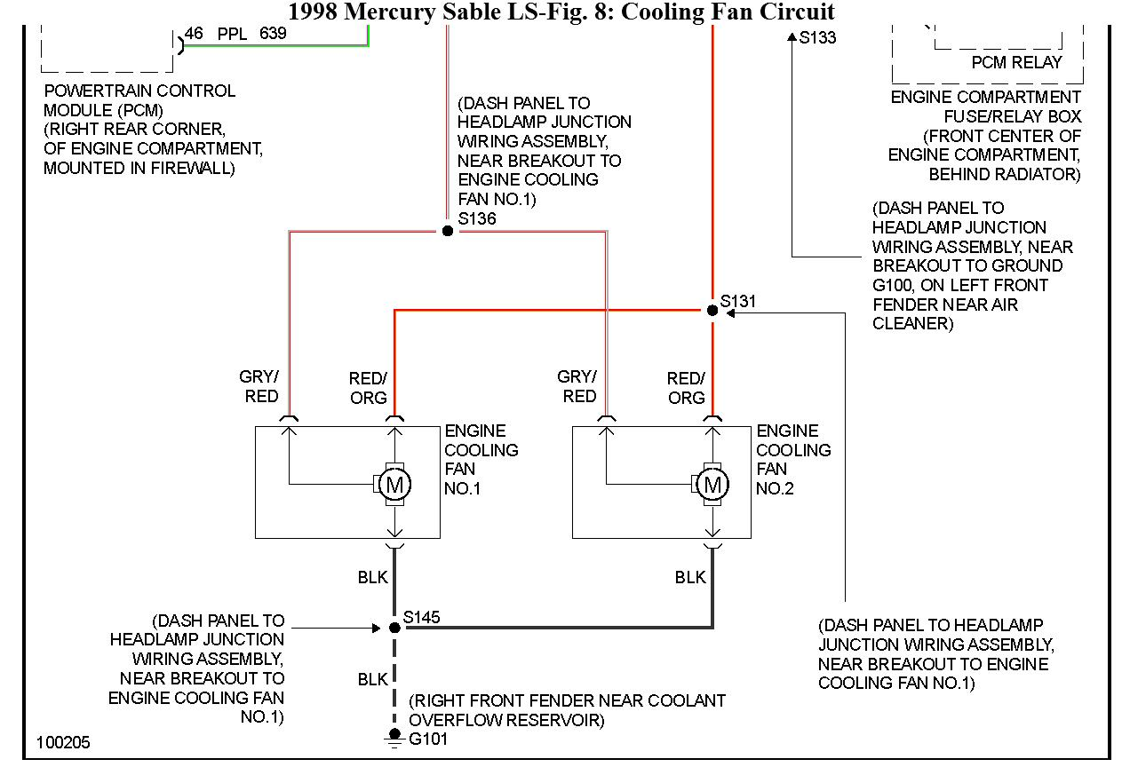 2003 mercury sable ls fuse box diagram raditor fan    fuse    location where is the    fuse    located for  raditor fan    fuse    location where is the    fuse    located for