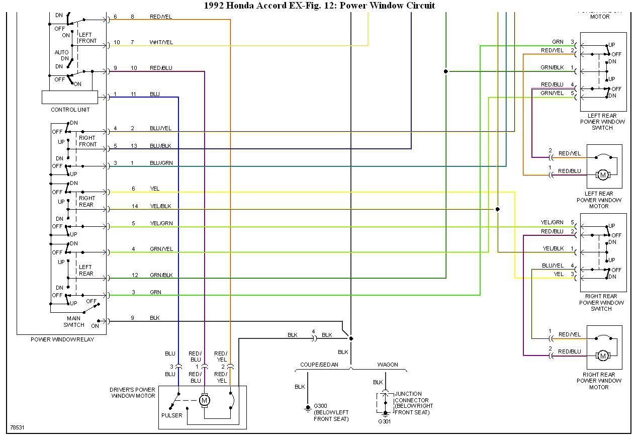 Fantastisch 92 Honda Accord Schaltplan Galerie - Elektrische ...