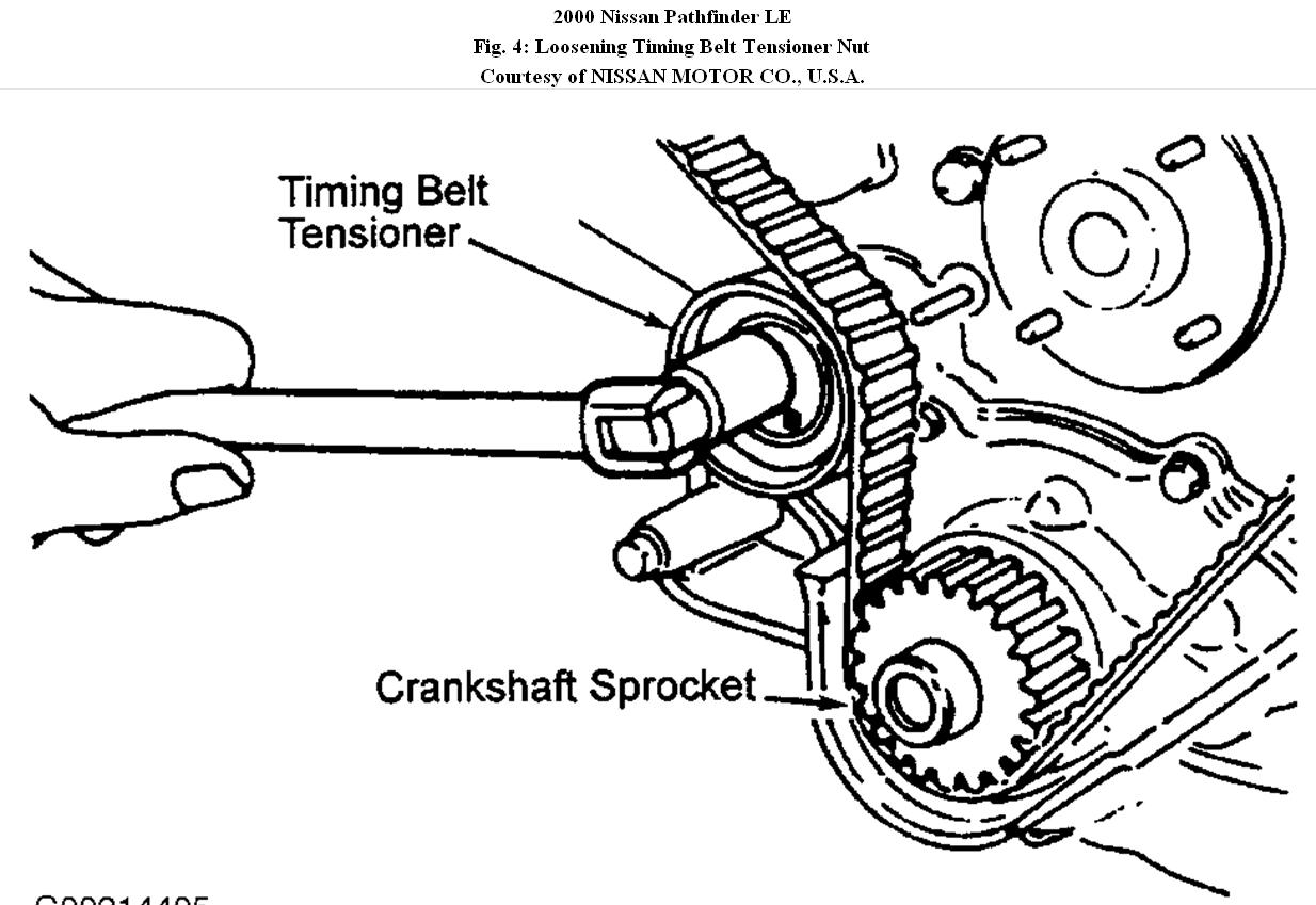 2003 nissan xterra timing belt diagram