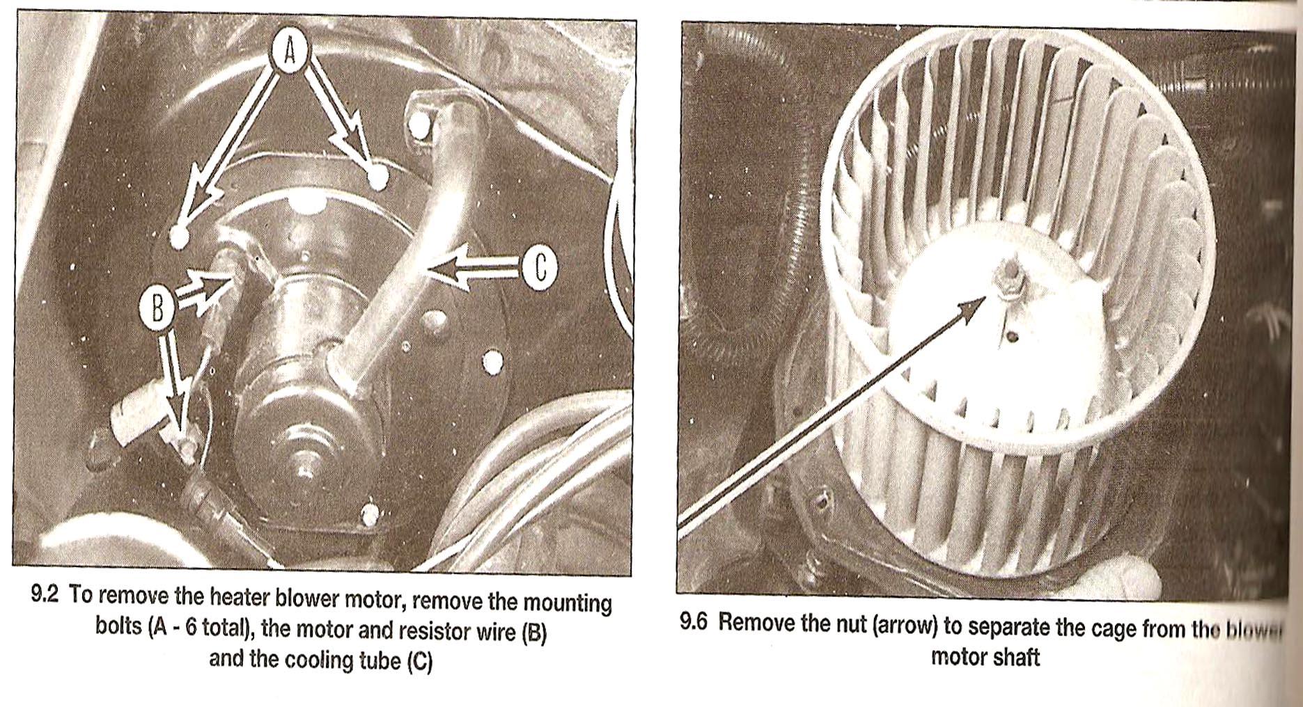 Replacing Blower Motor Is Replacing The Blower Motor Something