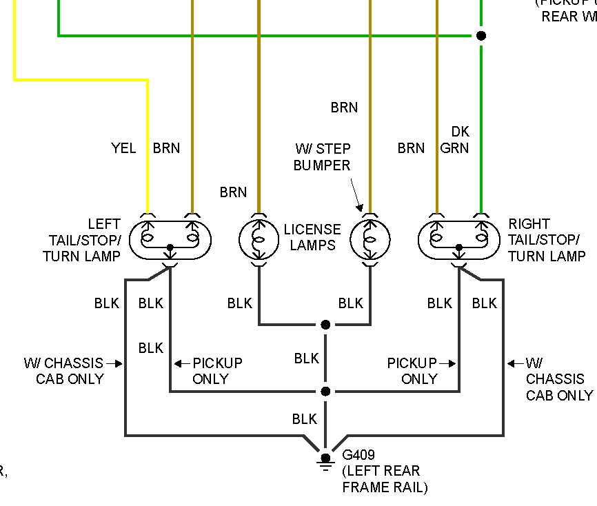 Thumb: 1998 Silverado Light Wiring Diagram At Gundyle.co