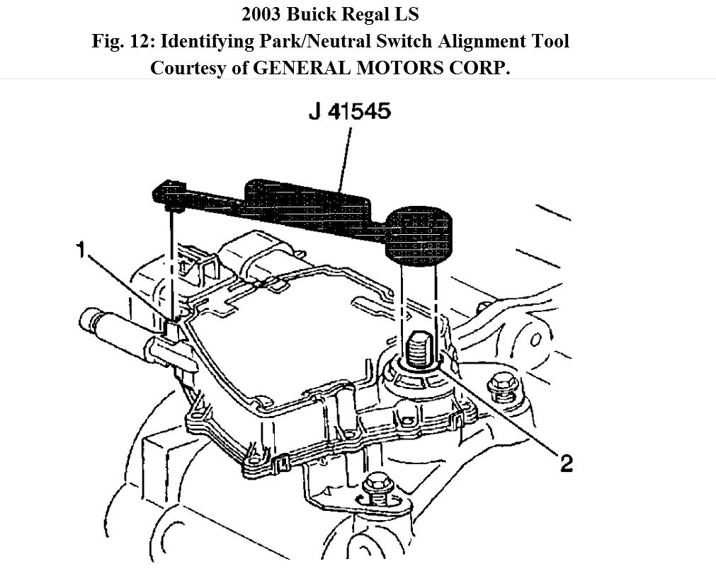 how do you replace a natural switch in a 2003 buick regal