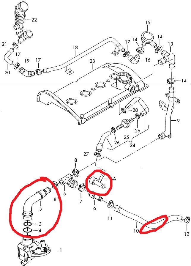 2003 vw passat engine parts diagram 03 vw passat engine diagram