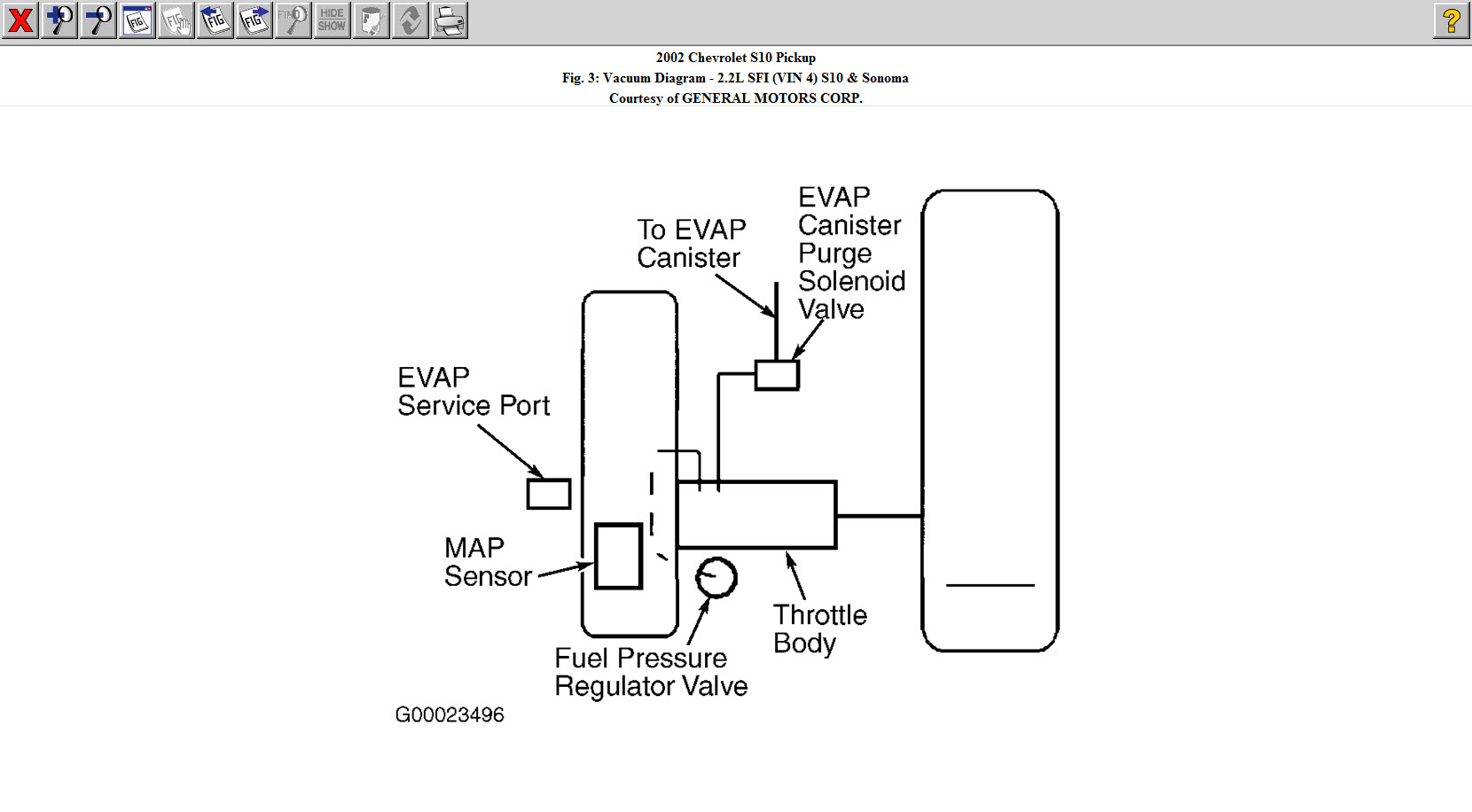 91 mazda b2200 engine diagram