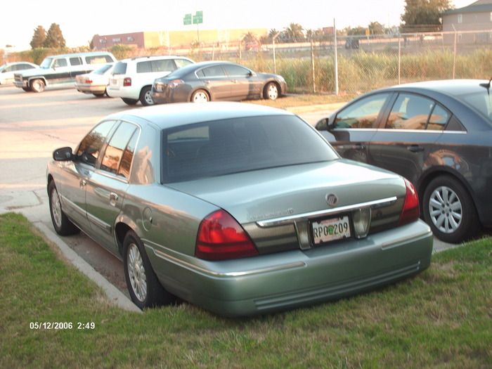 A C Freon Charge On A 2006 Mercury Grand Marquis Where