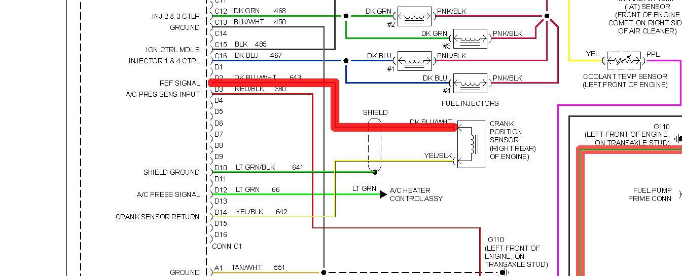 original 94 cavalier no spark or fuel pump power 94 cavalier wiring diagram at eliteediting.co