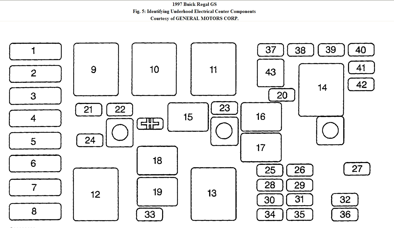 2011 buick regal fuse box diagram   33 wiring diagram