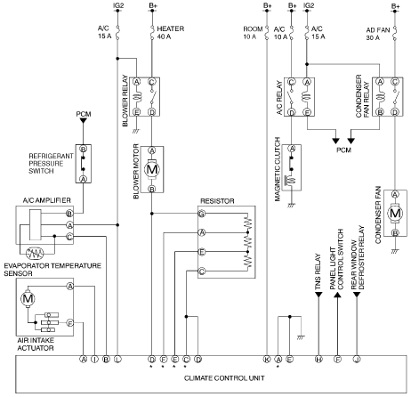 Original on Mazda Protege Wiring Diagram