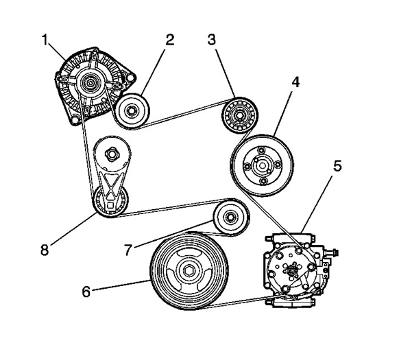 Serpentine Belt Diagrams Please  Hello  I Need A Diagrams For The