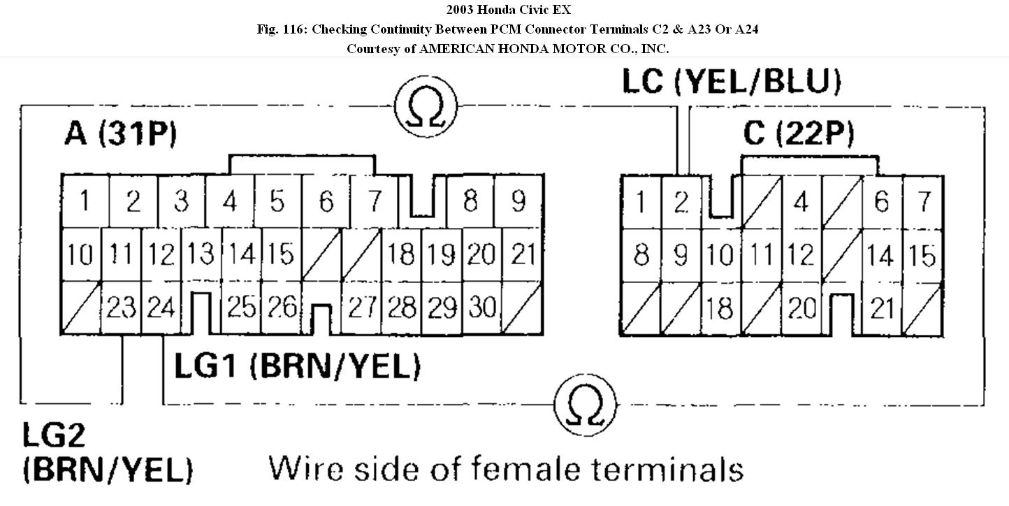 2003 Honda Civic Tcc Wiring Diagram Bots For Lx Solenoid Where Can I Find The On My Dx Diagrams