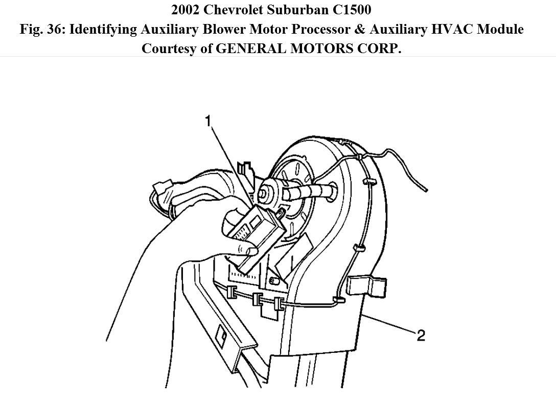 Question on Rear Blower Motor Fan Switch?