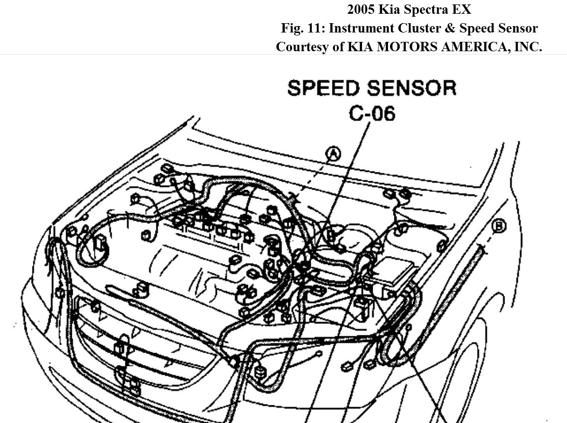 2005 Kia Spectra Replace Speed Sensor On on wiring diagram for 2001 kia optima