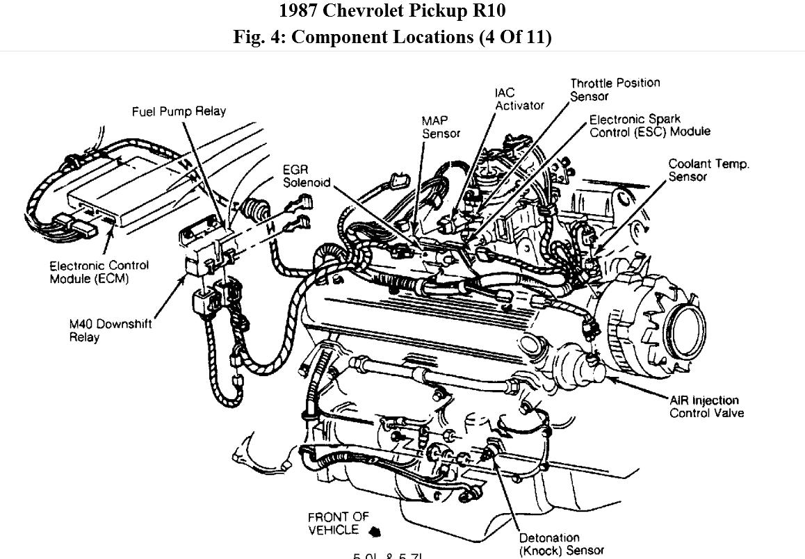 No Power To Fuel Pump I Just Replaced Cause Had. GMC. 1994 GMC Truck Fuel System Diagram At Scoala.co