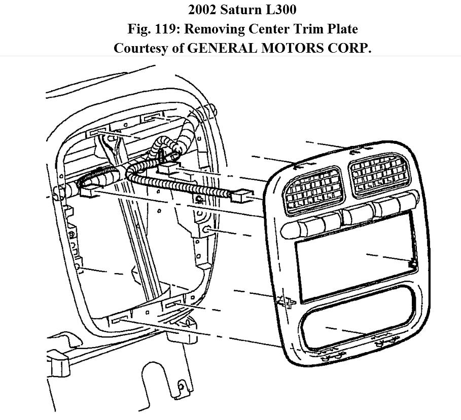how to change a hazard switch on 02 saturn l300 turn