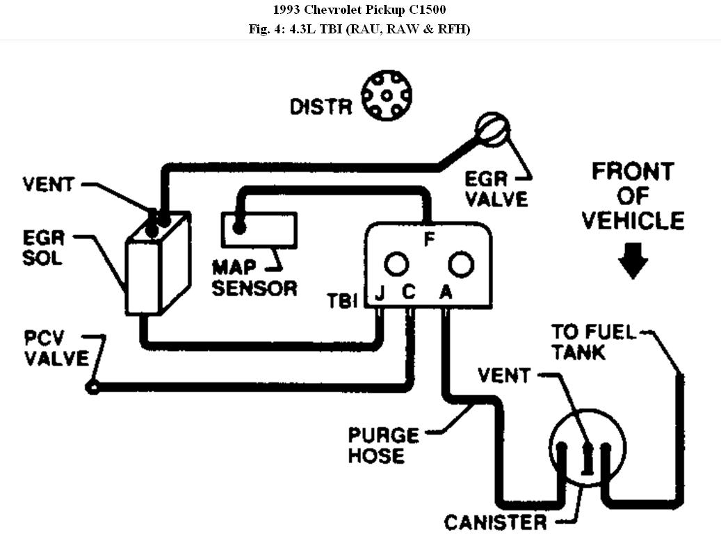 1990 chevy 1500 vacuum diagram