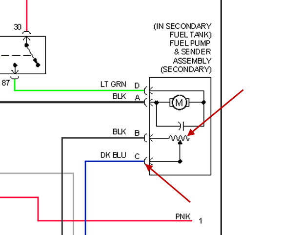 Fuel Level Sensor: I Need Diagram Plug the Wires Up on Fuel...