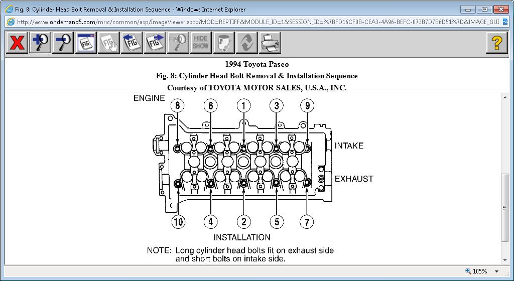 Original on 1993 Toyota T100 Fuse Box Diagram