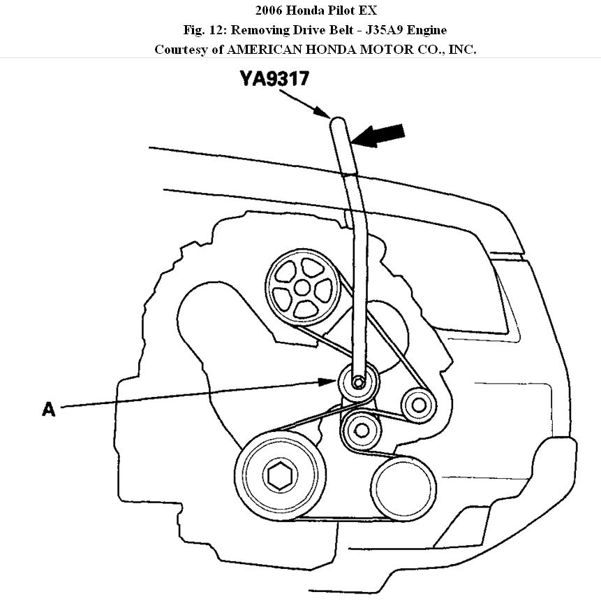 34 2005 Honda Odyssey Serpentine Belt Diagram Wiring Diagram List