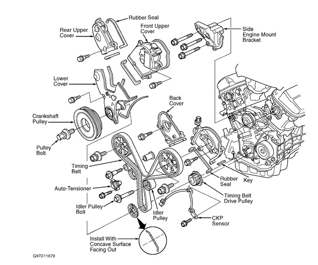 1997 Acura Cl 3 0 Engine Diagram