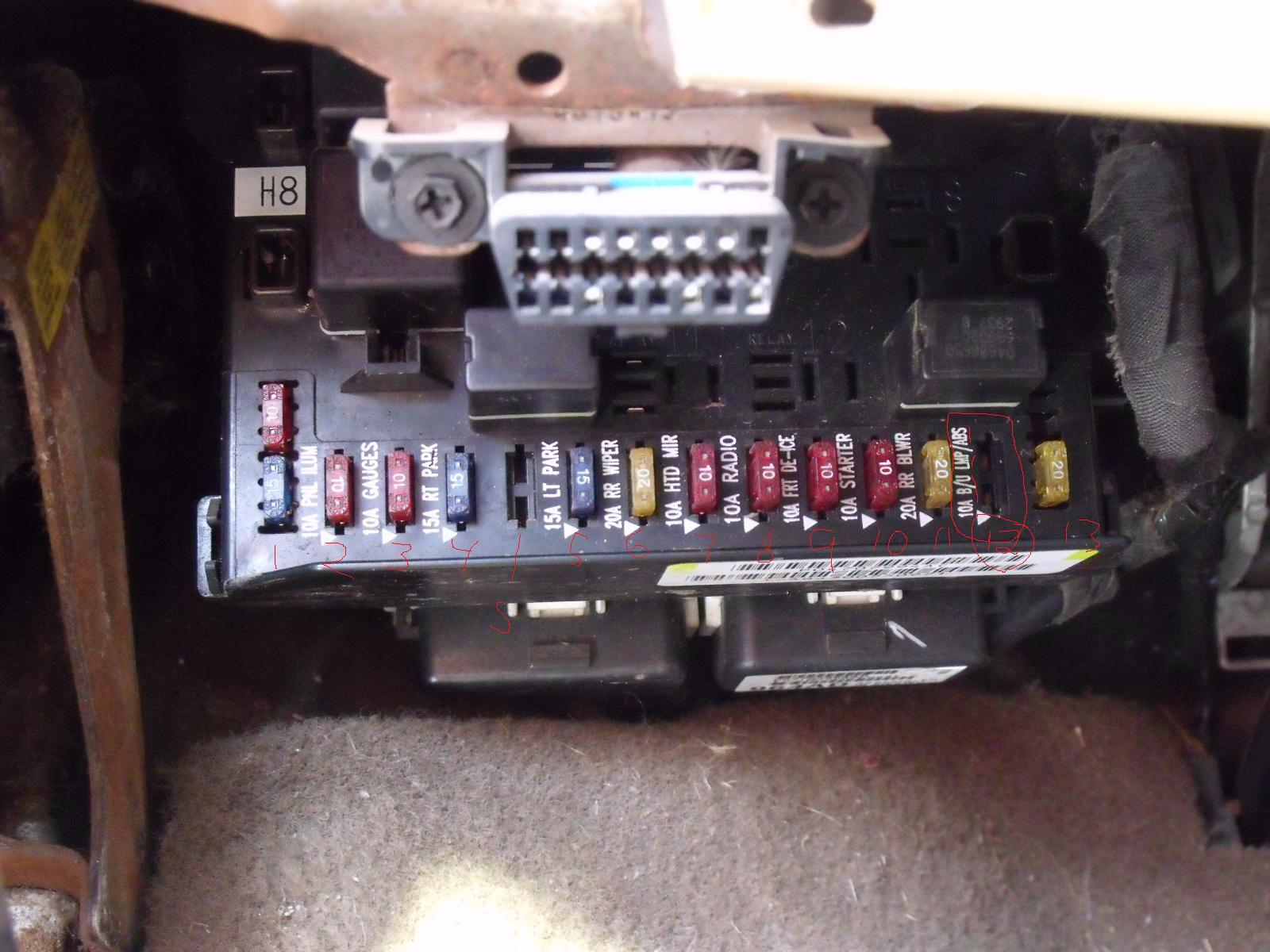Electrical Please Help  I Have A 98 Plymath Grand Voiger My