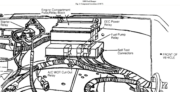 1994 ford ranger eec wiring diagram 1994 ford explorer