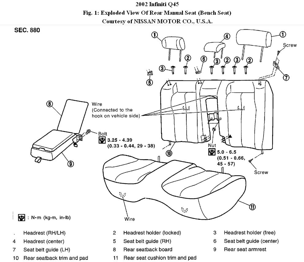 Infiniti i rear shade wiring diagram